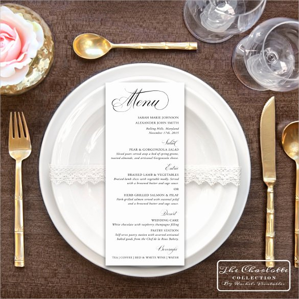 47 Menu Card Templates Ai Psd Docs Pages