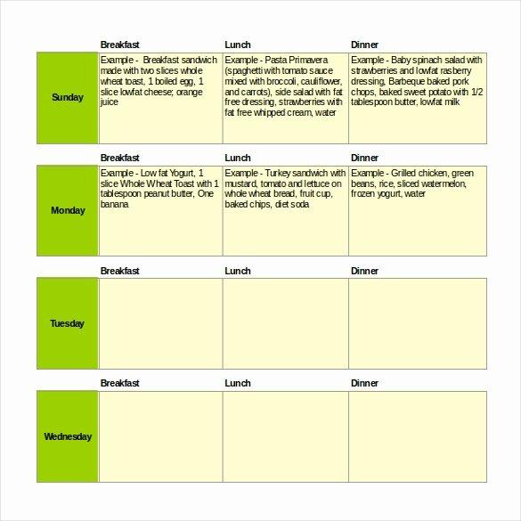47 Menu Templates Free Excel Pdf Word Psd