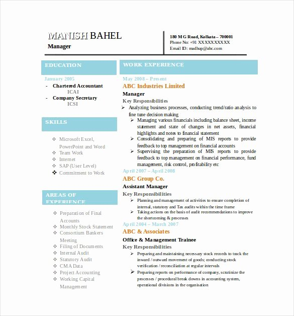 49 Best Resume formats Pdf Doc