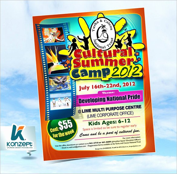 49 Summer Camp Flyer Templates Psd Eps Indesign