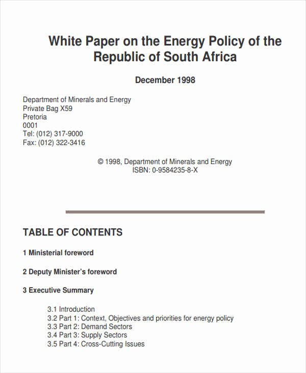 49 White Paper Templates