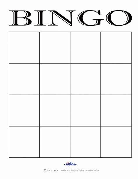 4x4 Bingo Cards Google Search Handbells