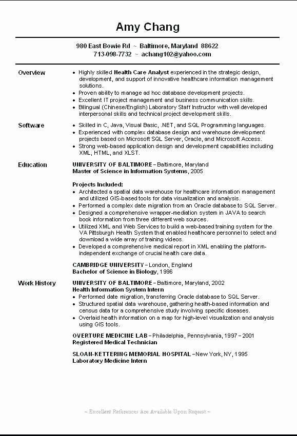 5 6 Example Of Functional Resume