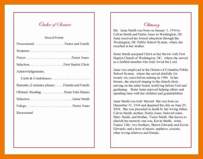 5 6 How to Write Obituary Template