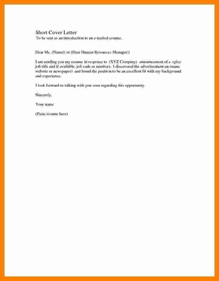 5 Basic Covering Letter Samples