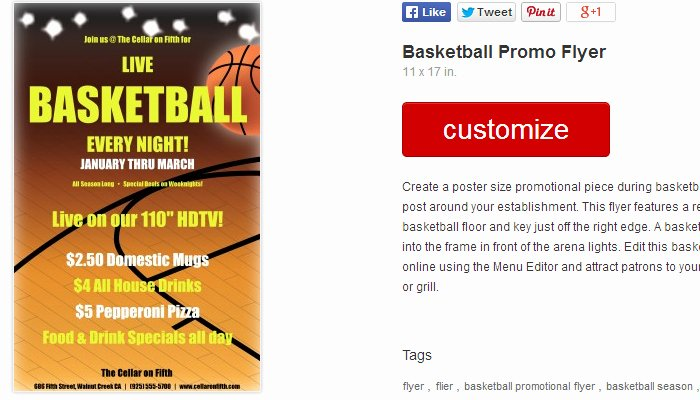 5 Basketball Camp Flyer Templates