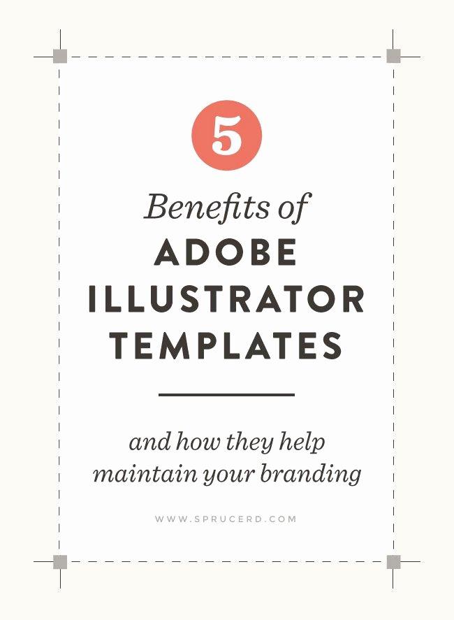 5 Benefits Of Adobe Illustrator Templates