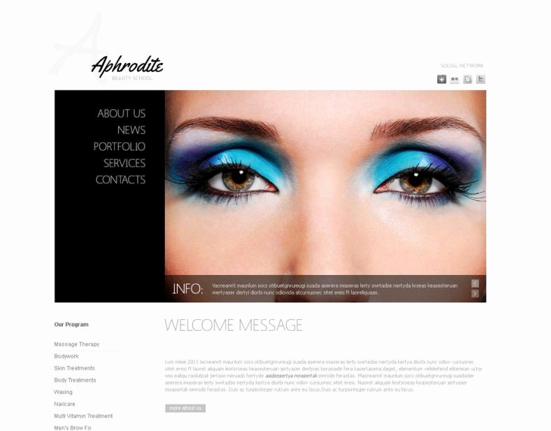 5 Best Makeup Artists Templates & themes