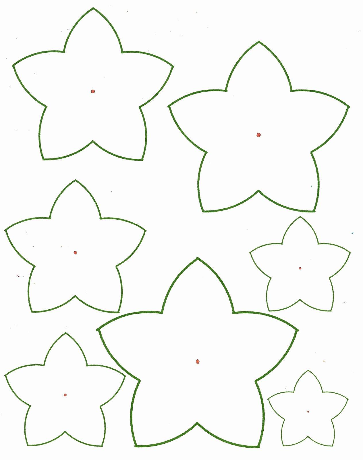 5 Best Of 3d Petals Flowers Templates Printables