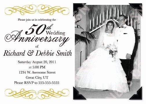 5 Best Of 50th Anniversary Invitations Free