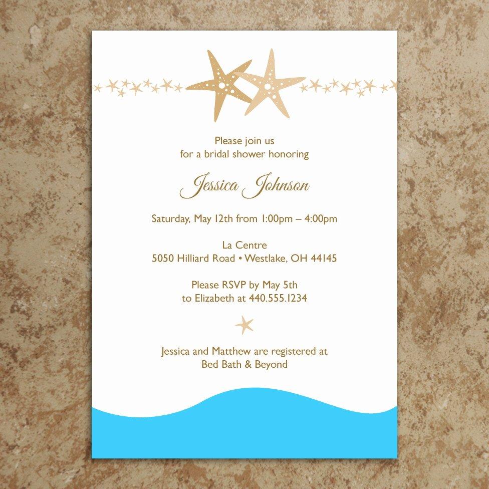 5 Best Of Beach Wedding Invitations Printable