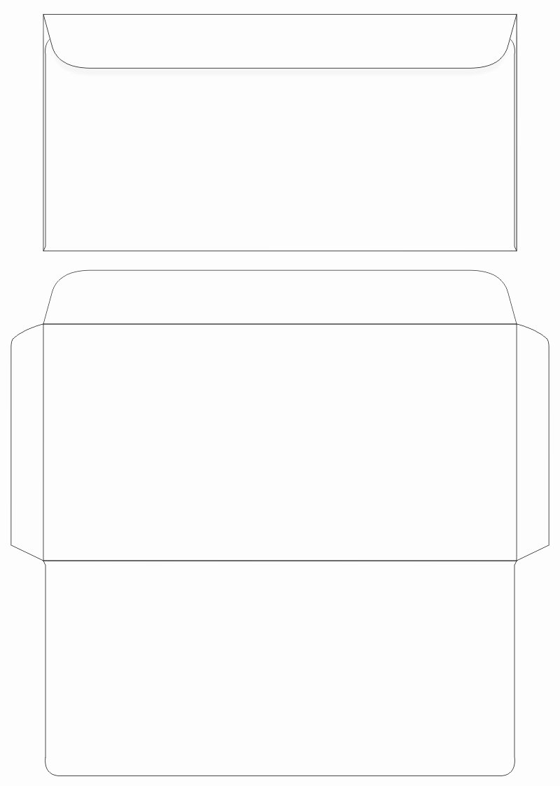 5 Best Of Envelopes Printable Template Design