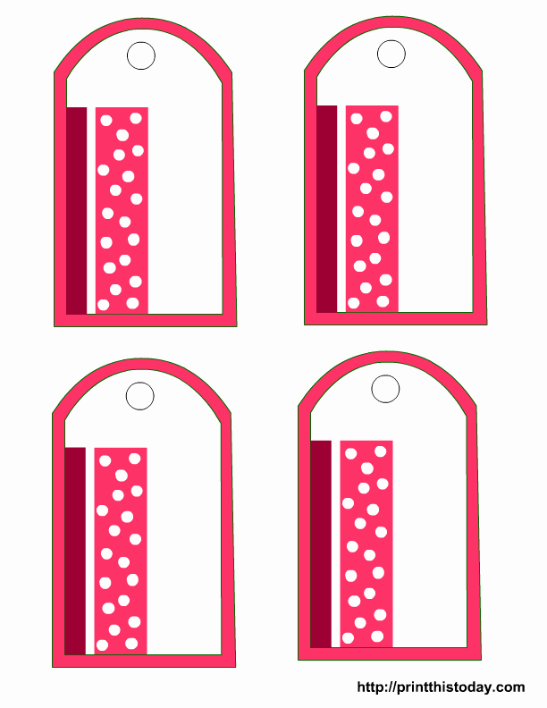 5 Best Of Free Printable Birthday Gift Tags