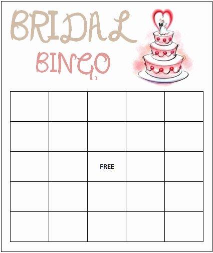 5 Best Of Free Printable Blank Bingo Template