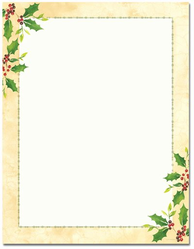 5 Best Of Free Printable Christmas Border Templates