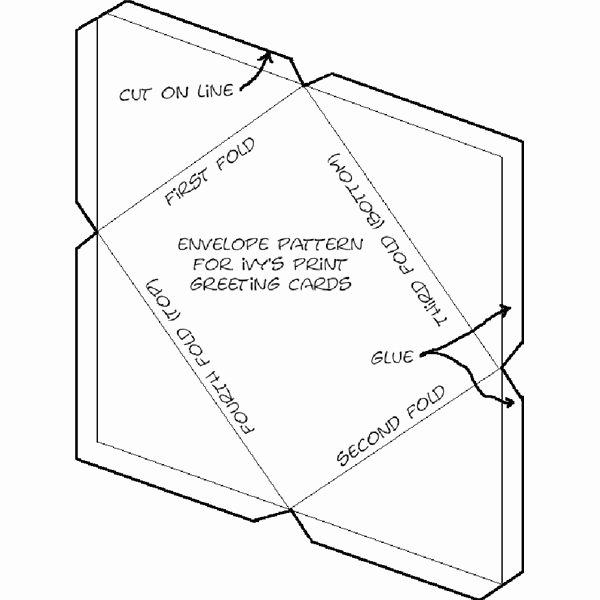 5 Best Of Free Printable Envelope Patterns