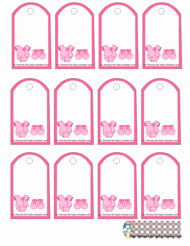 5 Best Of Free Printable Favor Tags Template Free