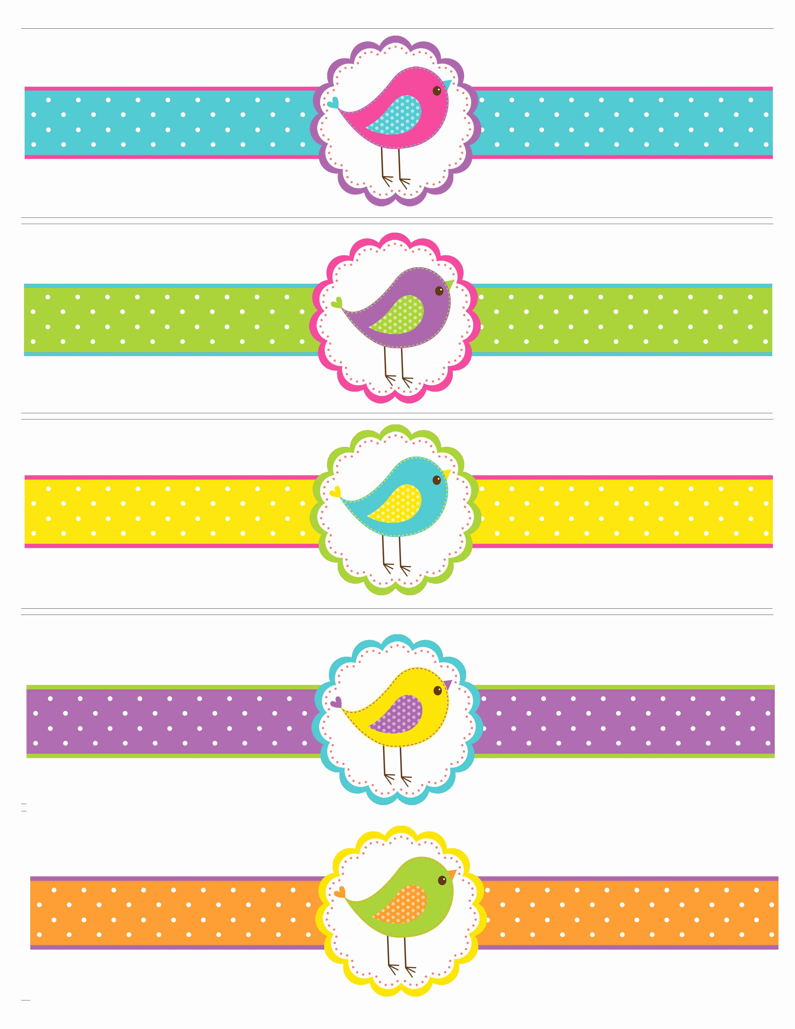 5 Best Of Free Printable Water Bottle Labels Baby