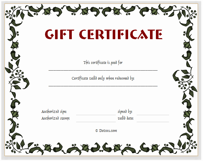 5 Best Of Gift Card Templates Printable Free Gift