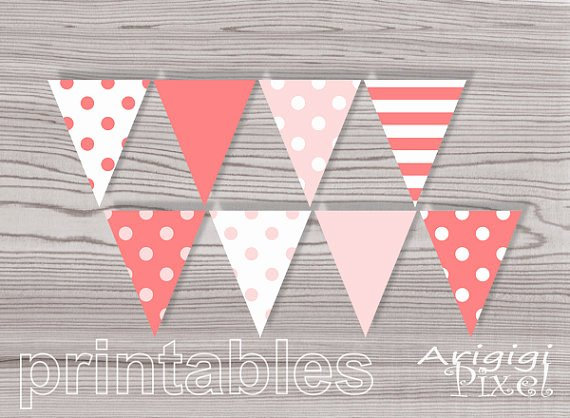 5 Best Of Peach Baby Shower Banner Printable