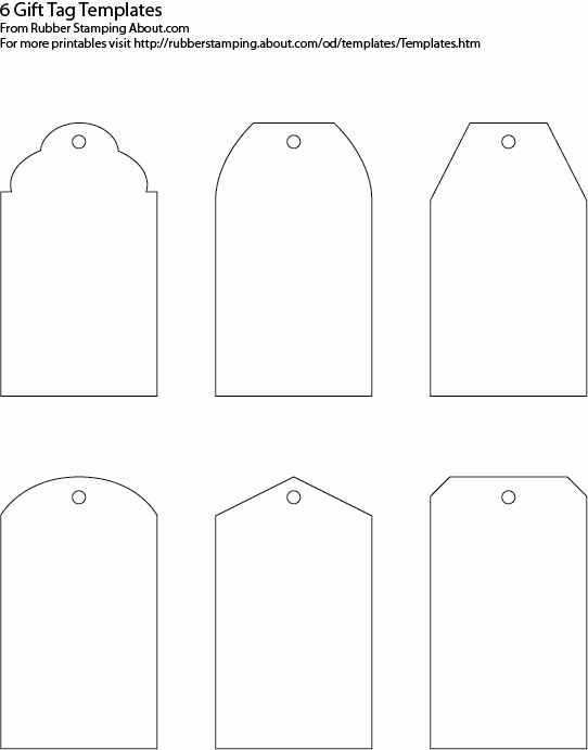 5 Best Of Printable Customizable Blank Tags Free