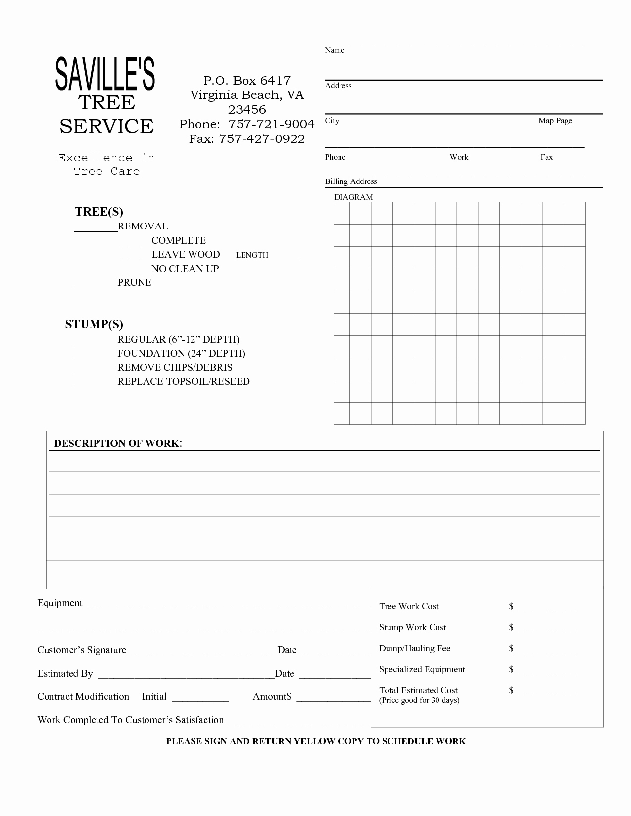 5 Best Of Snow Removal Invoice Template Snow