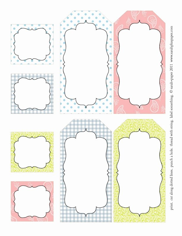 5 Best Of Tags Free Printable Label Templates