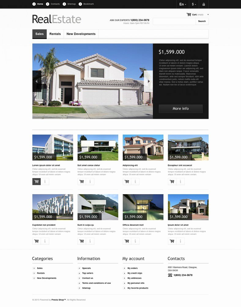 5 Best Real Estate Website Templates & themes