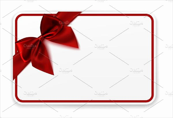 5 Blank Gift Card Templates Design Templates