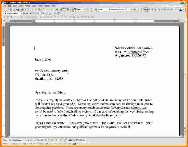 5 Business Letter format In Word