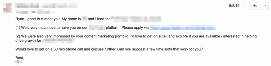 5 Cold Email Templates that Generate $107 500 In Sales