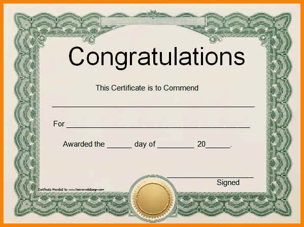 5 Editable Certificates Free