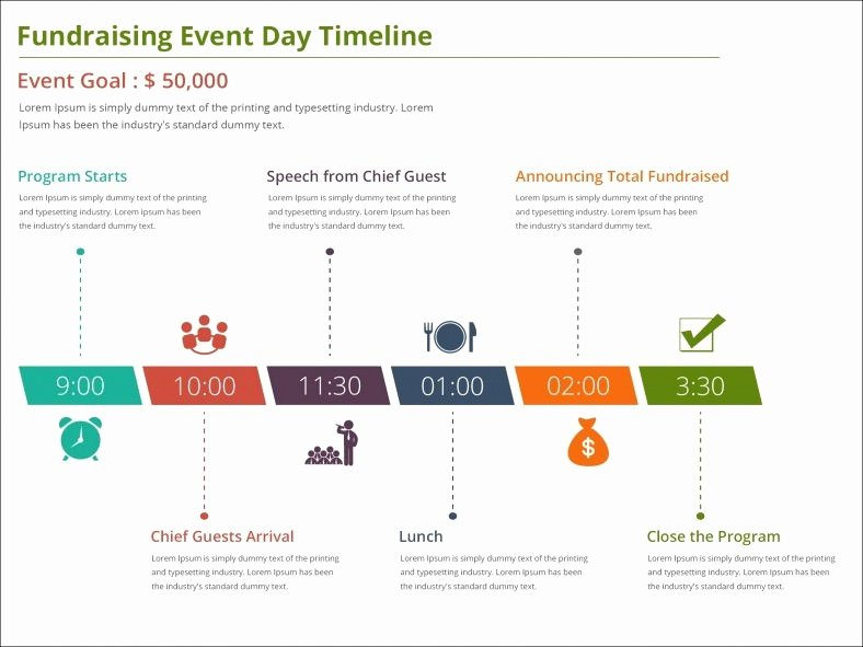5 event Timeline Templates Free Word Pdf Ppt format
