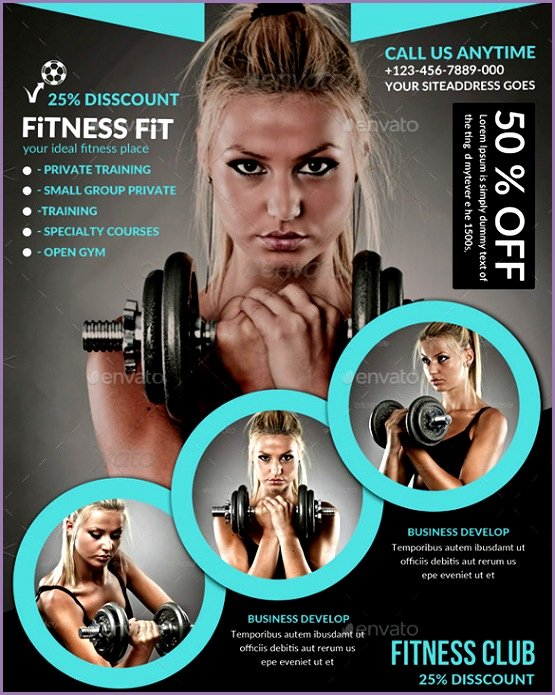 5 Fitness Flyer Ideas Work Out Picture Media Work Out
