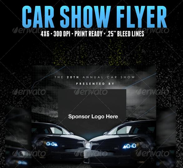 5 Free Car Show Flyer Templates Excel Pdf formats