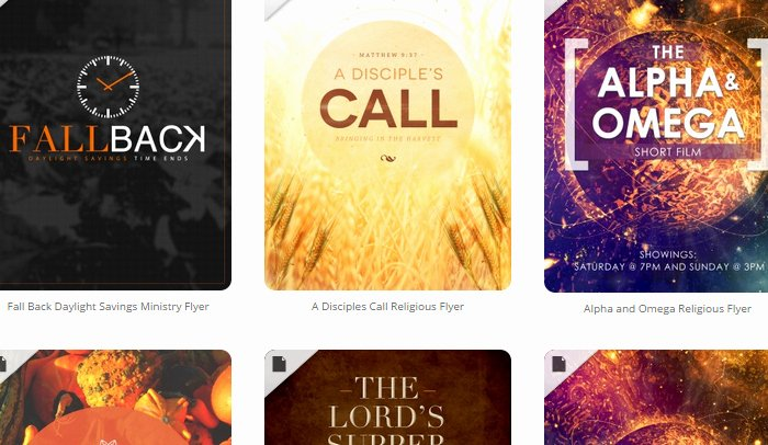 5 Free Church Flyer Templates