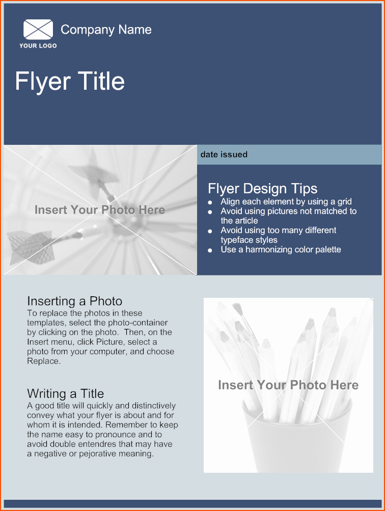 5 Free Online Flyer Templates Bookletemplate