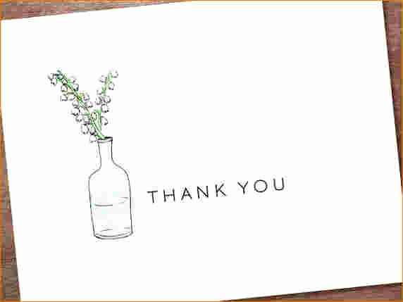 5 Free Thank You Card Template