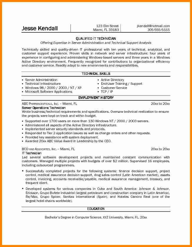 5 Good Pharmacy Technician Resume
