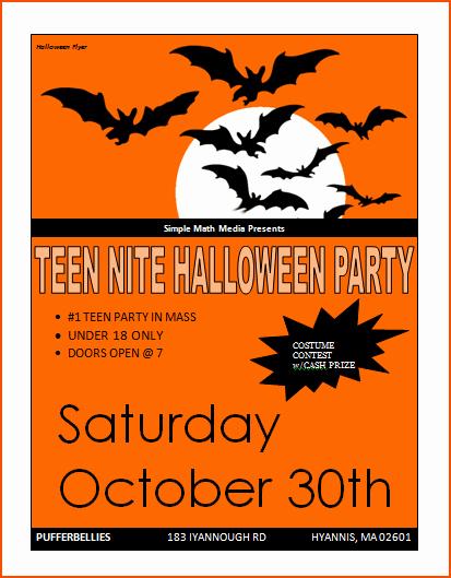 5 Halloween Flyers Bookletemplate