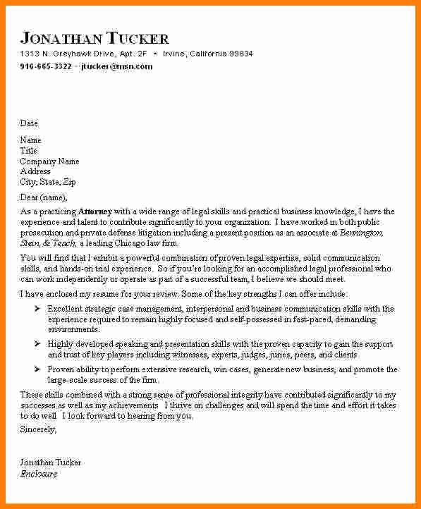 5 Legal Letter Samples