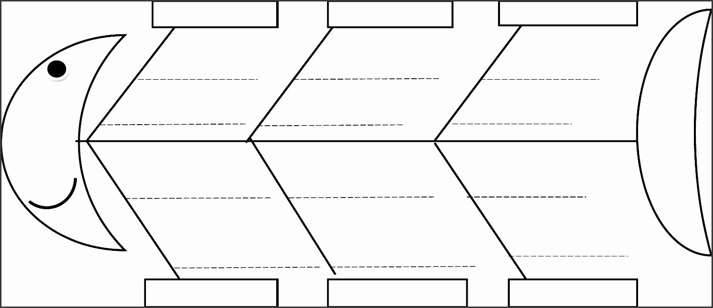 5 Line Fishbone Diagram Maker Sampletemplatess