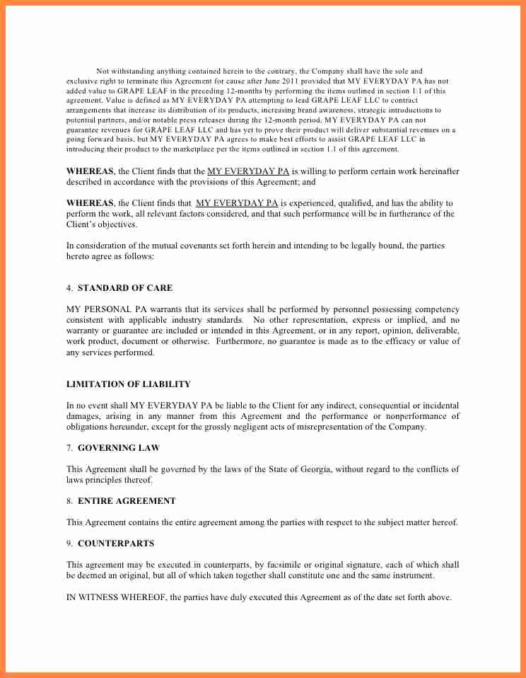 5 Marketing Consulting Agreement Template