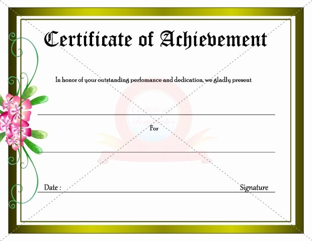 5 New Certificate Award Templates