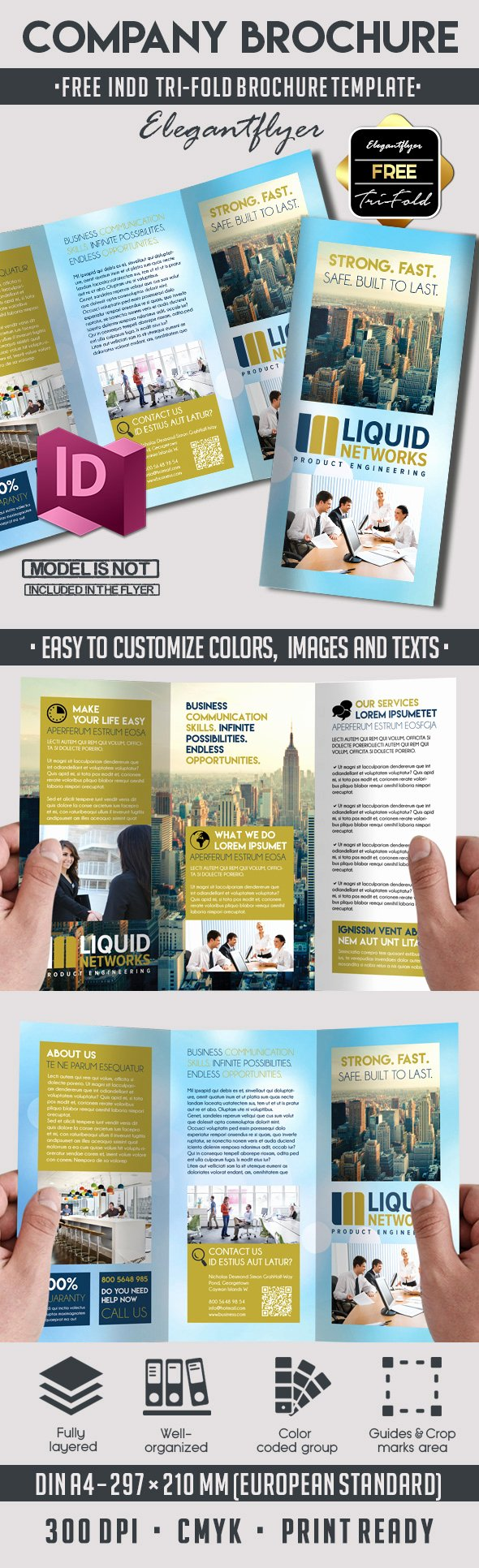 5 Powerful Free Adobe Indesign Brochures Templates – by