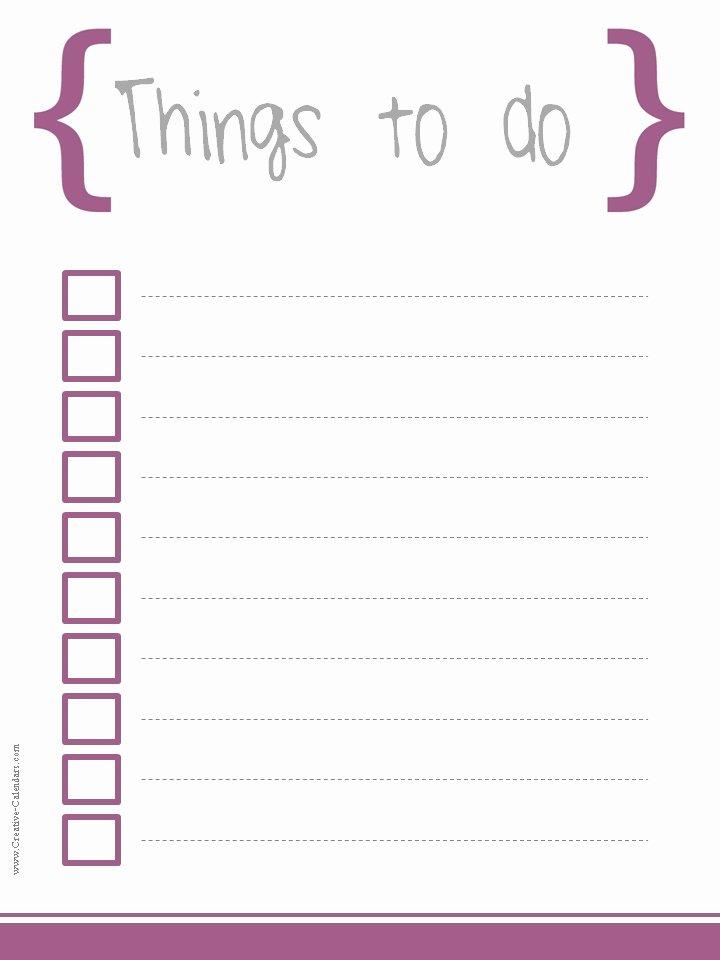 5 Printable to Do List Templates