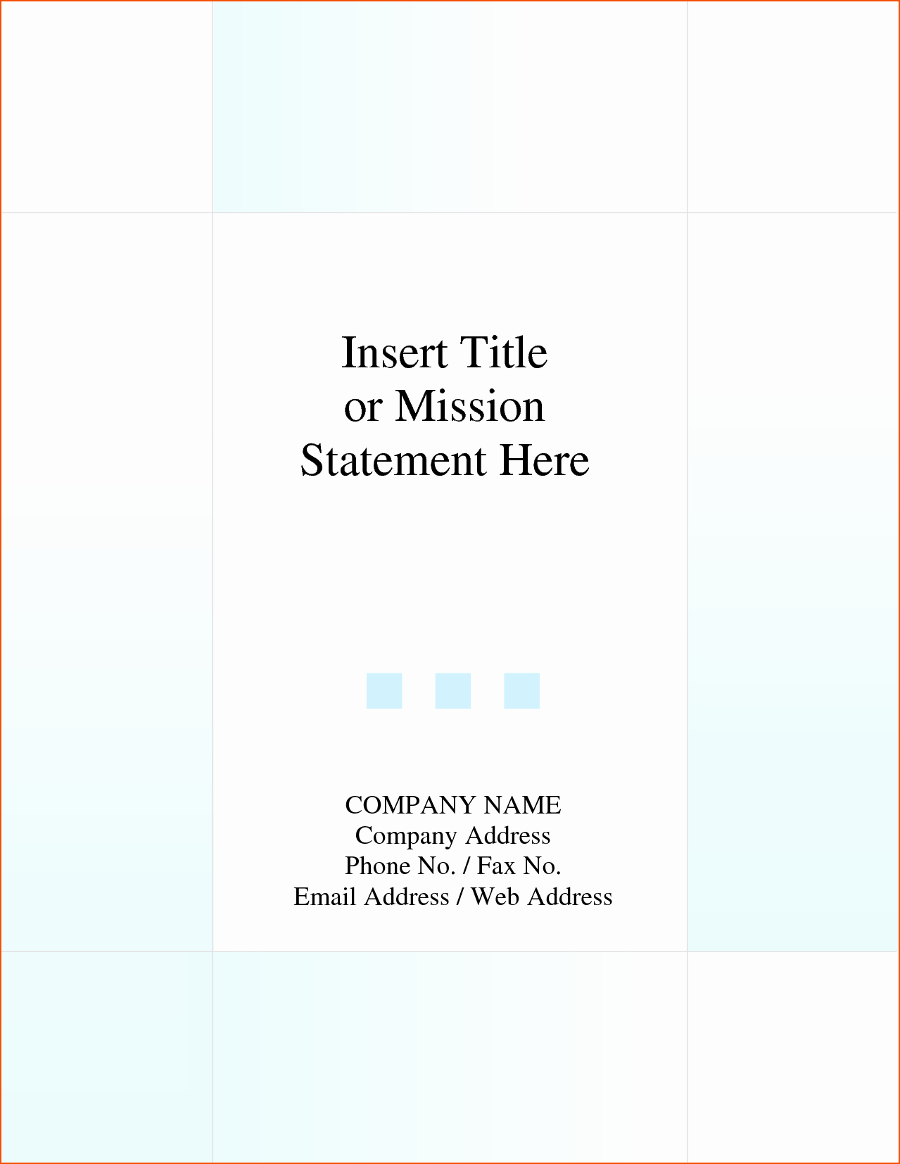 5 Report Cover Page Template Bookletemplate