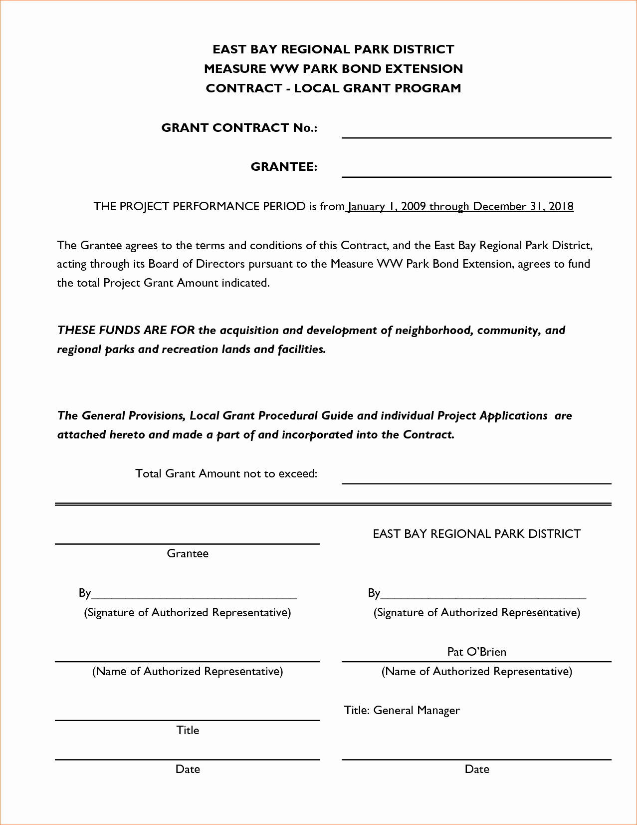 5 Simple Contractor Agreementreport Template Document