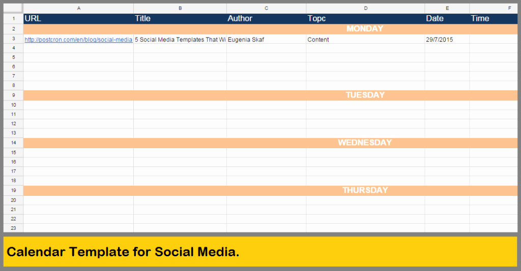 5 social Media Templates that Will Save You Many Hours