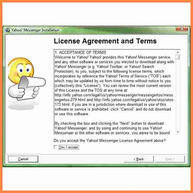 5 software End User License Agreement Template
